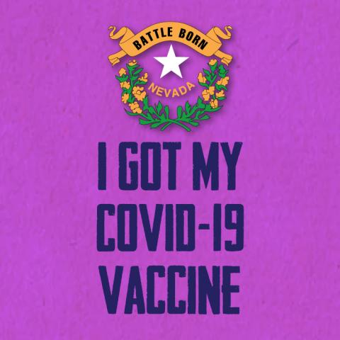 I got my COVID-19 vaccine stamp